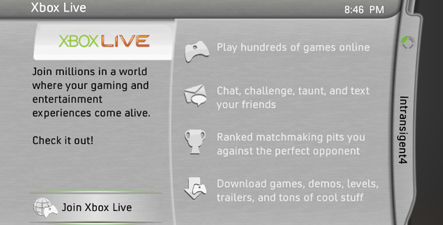 join xbox live