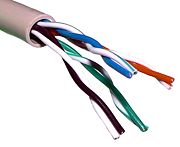Twisted Pair UTP ethernet cable