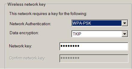 wpa configuration