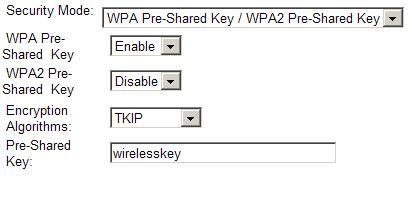 wpa settings