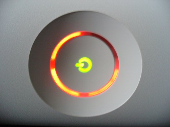 The dreaded xbox 360 3 red lights problem is something no one wants to    Xbox 360 Power Button Red
